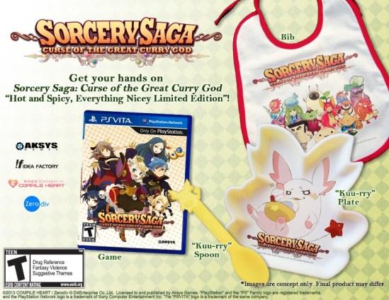 Sorcery Saga Curse of the Great Curry God LE  2