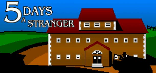 5 Days a Stranger | Full Title Screen