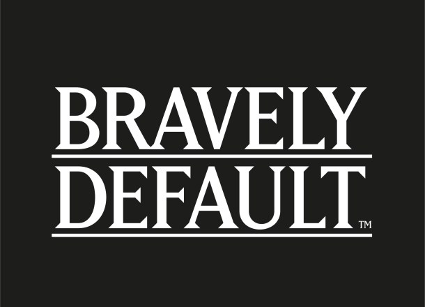 Bravely Default Logo (Black)