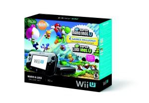Wii U Mario & Luigi Deluxe Set | Box Front
