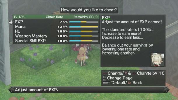 Disgaea D2 | Cheat Menu