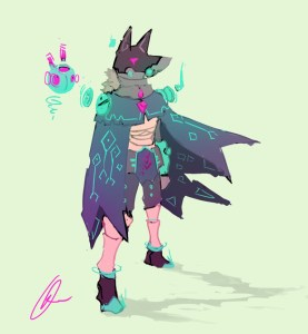 Hyper Light Drifter | Alternate Drifter Concept Art