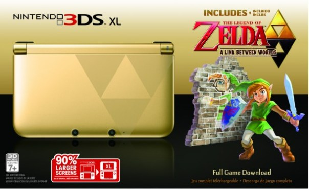 Nintendo 3DS XL: The Legend of Zelda: A Link Between Worlds Edition - Media Create | oprainfall