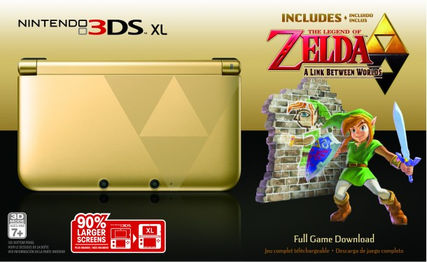 Nintendo 3DS XL | The Legend of Zelda: A Link Between Worlds Edition