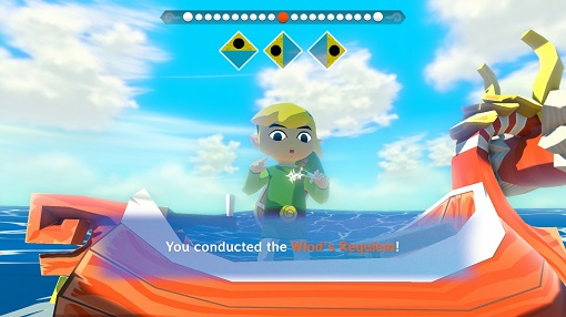 Wind Waker HD | Conducting the Wind