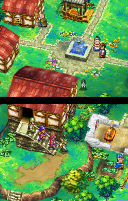 Dragon Quest IV - In Town | oprainfall