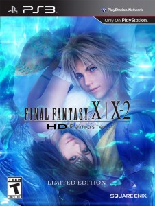 Final Fantasy X/X-2 HD Remaster Limited Edition Cover