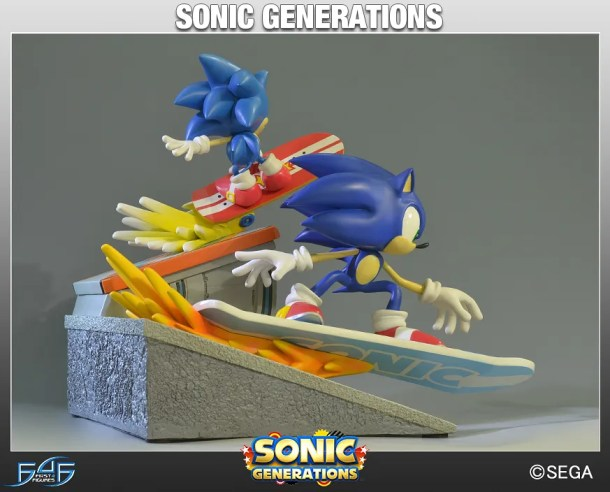 First 4 Figures Sonic Generations Diorama | oprainfall