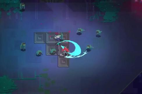 Hyper Light Drifter—Combat | oprainfall