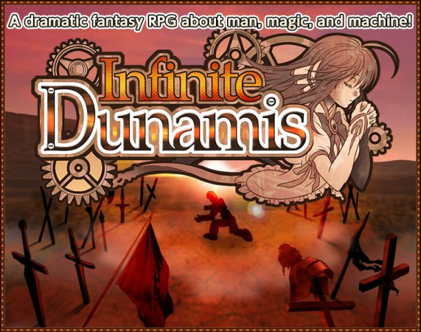 "Infinite Dunamis | ""A dramatic fantasy RPG about man, magic, and machine!"""