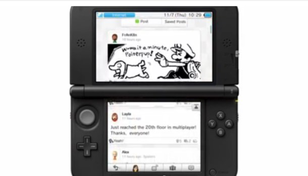 MiiVerse - Nintendo 3DS | oprainfall