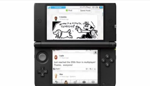 Miiverse on Nintendo 3DS