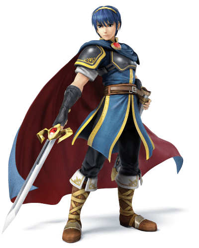 Super Smash Bros. (Wii U/3DS) | Marth