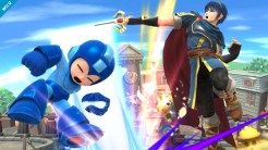 Smash Brothers Marth - Mega Man
