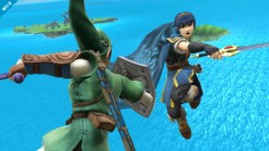 Smash Brothers Marth - Vs. Link