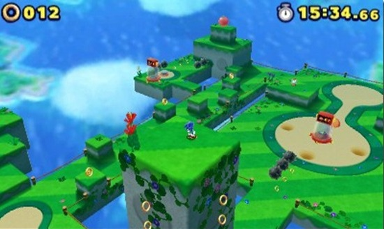 Sonic Lost World 3DS | Presentation