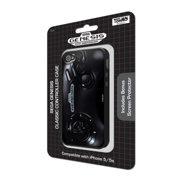 Tommo SEGA Genesis Classic Controller Case for iPhone 5/5s | Package Shot Angled