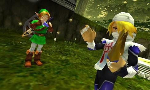 The Legend of Zelda: Ocarina of Time 3D | Link & Sheik