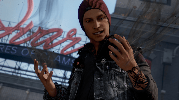 Tyler's Games of 2014 | inFamous: Second Son