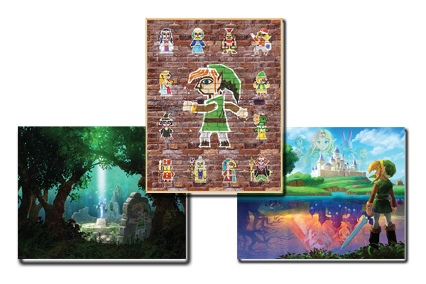Club Nintendo A Link Between Worlds Posters