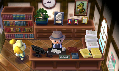 Animal Crossing: New Leaf - Mayor's Office | oprainfall