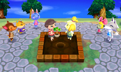 Animal Crossing: New Leaf - Tree Ceremony | oprainfall