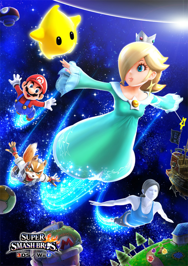 Super Smash Bros. - Rosalina, Luma, and Friends | oprainfall