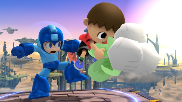 Smashing Saturdays - Mega Man and Villager   oprainfall