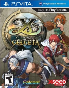 Ys Memories of Celceta | Box Art