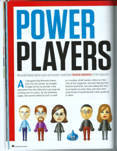 Nintendo Power 285