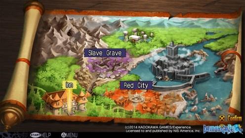 Demon Gaze   Map