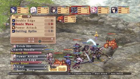 Agarest: Generations of War Zero screenshot 2