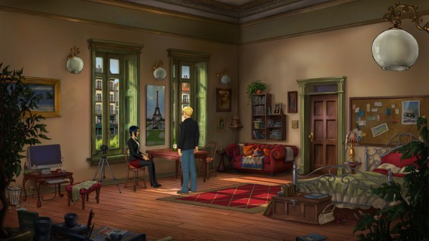 Broken Sword 5 | Nico's Apartment