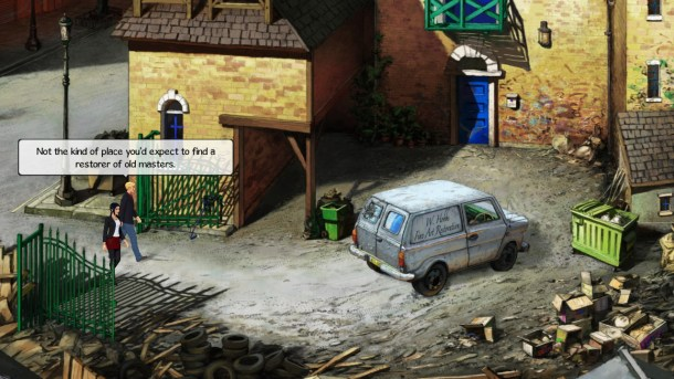Broken Sword 5 | Seedy Part of Town