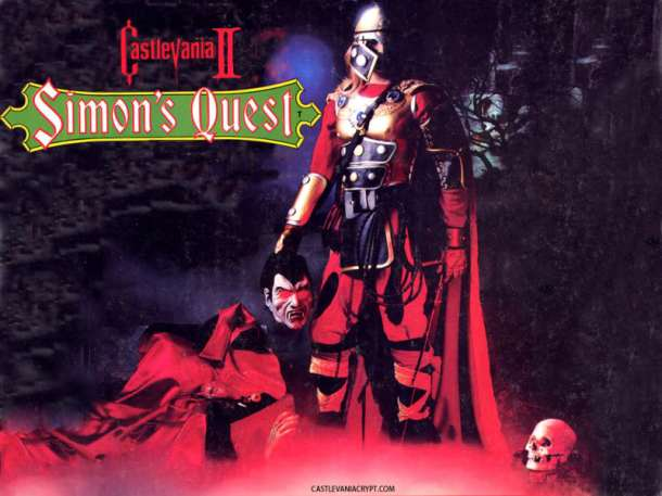 Castlevania II: Simon's Quest - Nintendo Download Europe | oprainfall