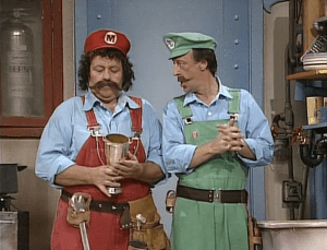 Danny Wells and Lou Albano | oprainfall Awards