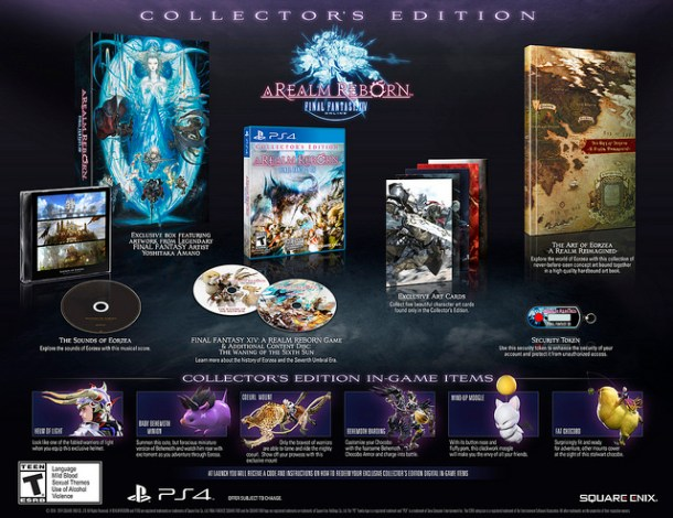 Final Fantasy XIV Collector's Edition | oprainfall