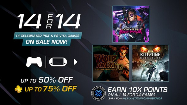 14 for '14 PSN Sale