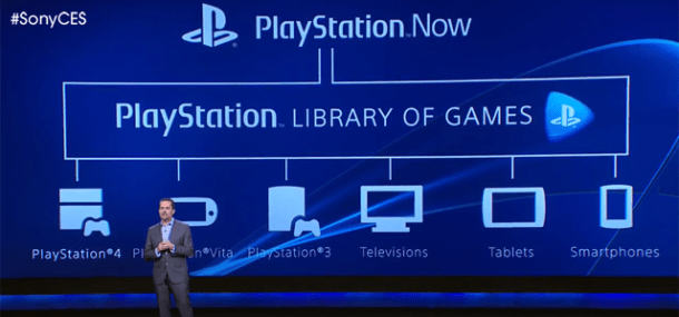PlayStation Now - CES 2014 | oprainfall