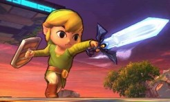 Super Smash Bros 3DS | Toon Link Sword Slash