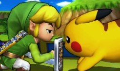 Super Smash Bros 3DS | Toon Link's Intimidation