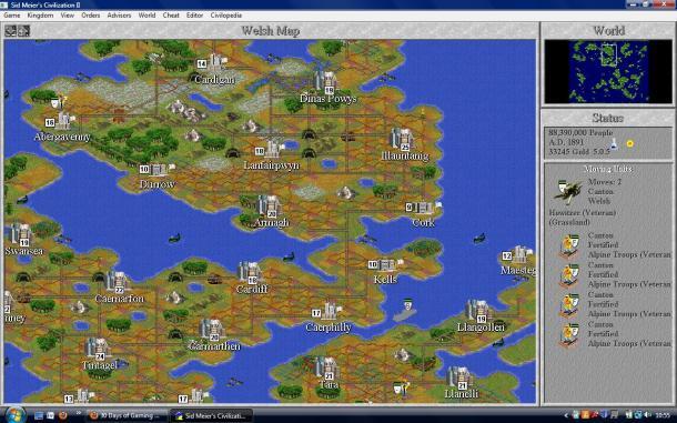 Civilization Sidebar - Baldur's Gate II | oprainfall