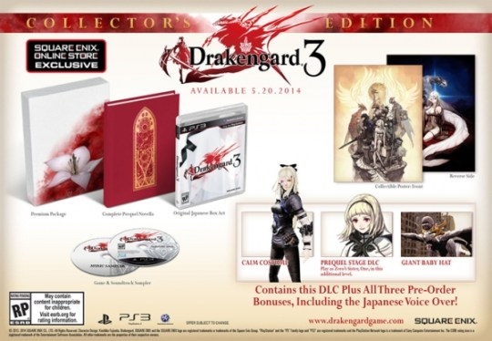 Drakengard 3 Collector's Edition | oprainfall