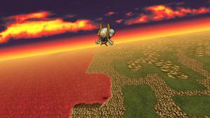 Final Fantasy VI for iPhone (Japanese) | Airship Flight
