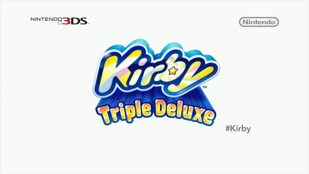 Kirby: Triple Deluxe Logo | Nintendo Direct (North America) 2014-02-13