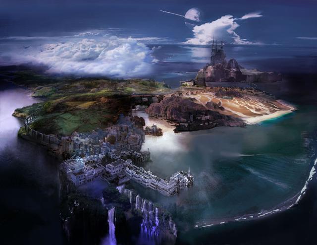 Lightning Returns   The World of Nova Chrysalia.
