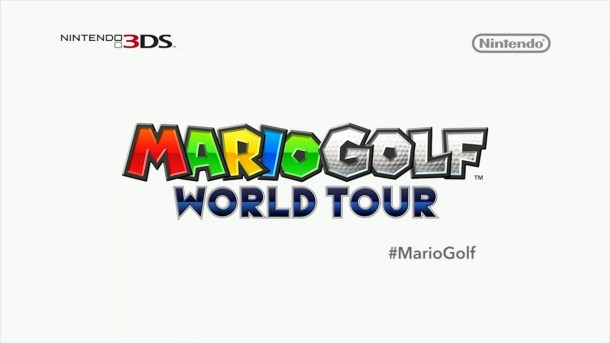 Mario Golf: World Tour Logo—Nintendo Direct (North America) 2014-02-13