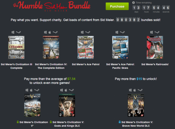 Sid Meier's Humble Bundle