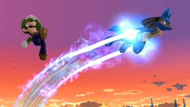 Luigi and Lucario - Smashing Saturdays   oprainfall