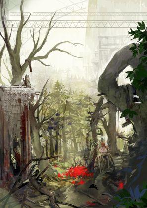 htoL #NiQ: Hotaru no Nikki | Foliage